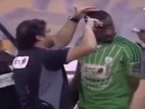 WATCH: Footballer forced to trim 'un-Islamic' hair