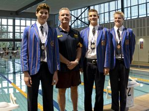Grammar School swimmers show skills on national stage