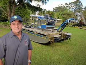 Palmwoods business owner buys new 'tank' to fuel his war on noxious weeds