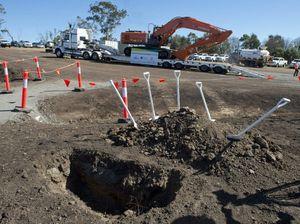 Thieves strike Toowoomba Second Range worksites