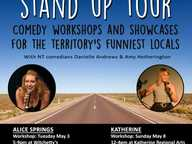 Fancy yourself as a bit of a comedian? Do you always make your mates laugh? Are you a bit of a class clown? We're looking for the Territory's funniest locals