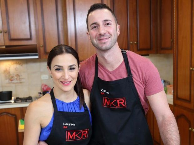 Mkr s carmine and lauren shut down their haters sunshine for Y kitchen rules contestants