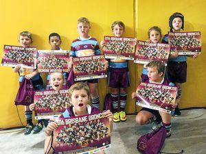 Young footballers play where NRL stars shine