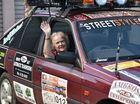 Ilene King,79, from Urangan participating in the 2016 Endeavour Rally - from Ipswich to Uluru. Photo: Alistair Brightman / Fraser Coast Chronicle