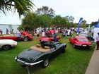 E-Types, XKs, XJs and the brand new F-Pace SUV take part in an incredible show at Golden Beach