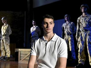 Anzac play tough for Grammar School drama students