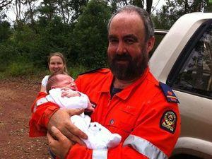 SES volunteer an 'everyday hero' for saving baby boy