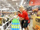 STAFF from Booval Bunnings have already moved across to their new $44 million base at Bundamba ahead of opening next week.