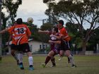 Biloela's 3rd grade side succumbed to an onslaught from Gladstone's Meteors FC at Rainbow St on Sunday, going down 16-1.