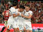 Western Sydney Wanderers will face Adelaide United at Coopers Stadium next Sunday after a remarkable comeback broke Brisbane Roar hearts.
