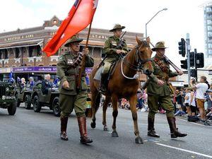 Ipswich Anzac Day parade