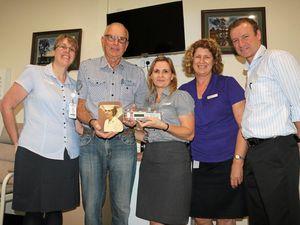 A heartfelt donation to help palliative care