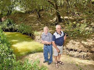 Developers blamed as Bundamba Creek stops flowing