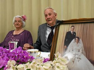 Des and Jean celebrate 60 years together