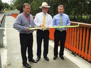 New Eumundi bridge officially opened