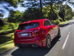 SMALL TREAT: Performance, style and plenty of included kit make the Mercedes-Benz A250 Sport the best all-round pick of the A Class range.
