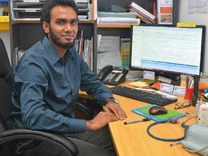 NEW DOCTOR: Mashfique Khan has joined the ranks at Emerald Health Care Centre.