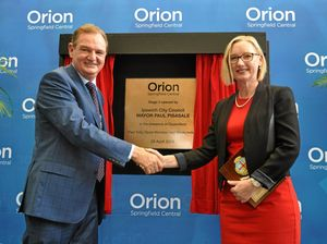 Milestone unveiling for Orion