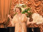 Meryl Streep in a scene from the movie Florence Foster Jenkins.
