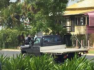Police cordon off Rockhampton home as man makes threats
