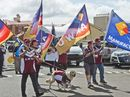 Labour Day march in Toowoomba