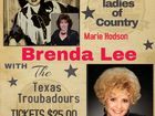 Patsy Cline and Brenda Lee Show with The Texas Troubadours,  bring Country back to Country