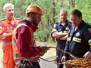 Mount Beerwah rescue