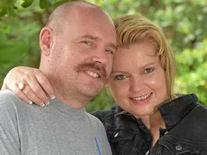 Foster carers Rochelle and Daran Royce.