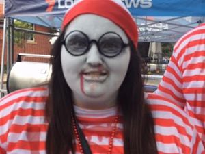 WATCH: Search off for Wally, found at PubFest