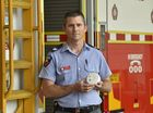 Firefighter Doug Maxwell says now is the time to prepare the home for the winter months. QFES fire safety warning ahead of cold weather.. April 2016
