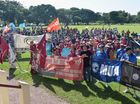 Mackay Labour Day March 2016 Photo Tony Martin / Daily Mercury