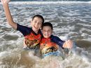 Bundaberg residents enjoyed time near the water on a warm day in May.