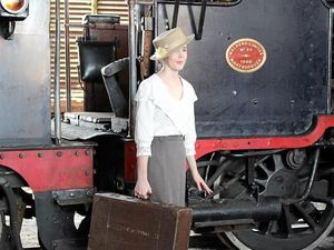 A play on Ipswich's Train Tea Society will be staged at Swanbank Station.