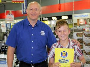 Good Guys labels Ballina boy Braydan a Super Kid