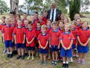 Freestone students mark Anzac Day