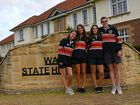 Four European exchange students share their experiences at Warwick High School.