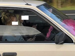 BUSTED: Driver snapped texting at 110kmh in the wet