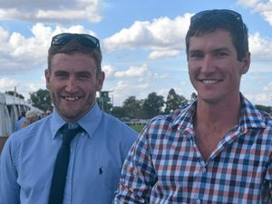 House Rules stars mobbed by fans at Dalby races