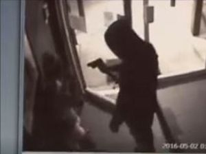 WATCH: Axe robbers brutal attack on hotel barmaids