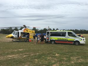 Motorcross rider suffers spinal injuries in mistimed jump