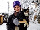 Kingscliff High School student Clare Tunks enjoying her school exchange to Japan.