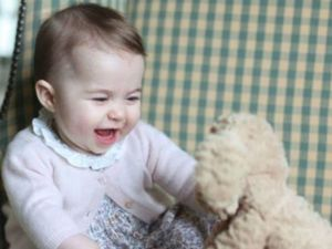 Princess Charlotte given $58k rattle for first birthday