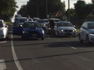 ROAD RAGE: Tempers erupt at Toowoomba intersection