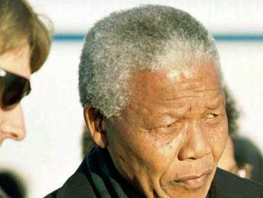 Rory Steyn (above) said he saw a different side to Nelson Mandela during an exchange with an elderly white police colonel. Photo / AP