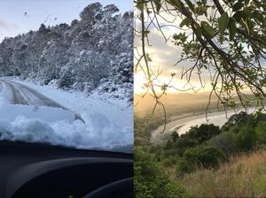 AUSSIE WEATHER: From winter wonderland to air conditioners
