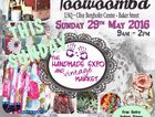 Handmade and Vintage Market with approx 100 stalls. Refreshments avail. Pram and wheelchair friendly.