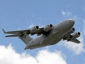 A C-17A Globemaster aircraft from 36 Squadron at RAAF Base Amberley will conduct a low-level training flight over the Sunshine Coast.