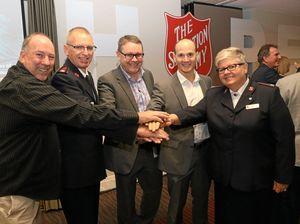 Breakfast bonanza as Salvos launch their Red Shield Appeal