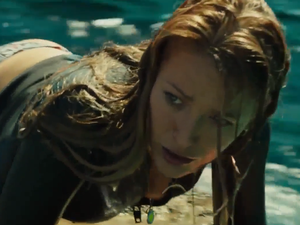 Blake Lively in The Shallows.