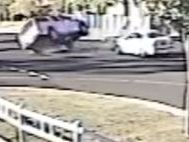 WATCH: Camera catches crash at Darling Downs intersection